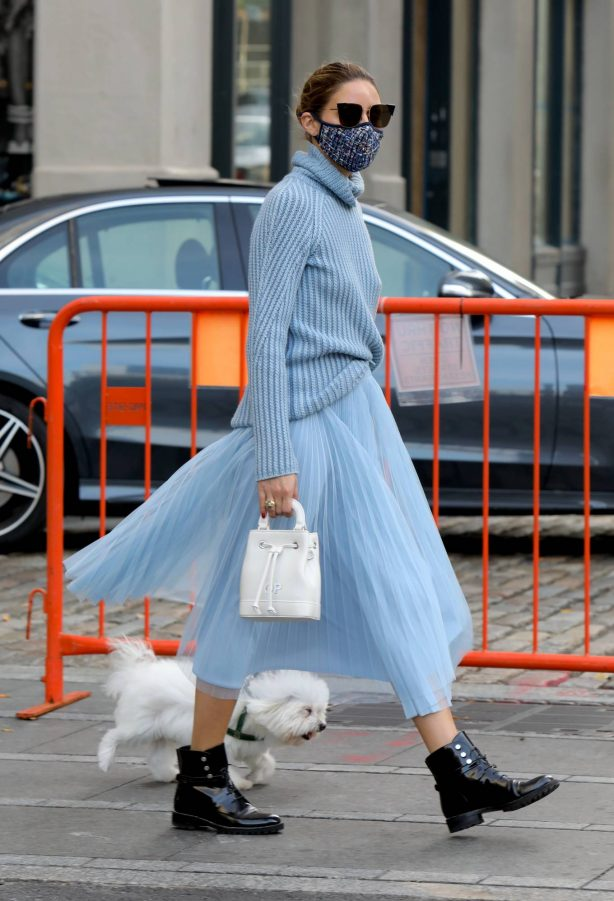 Olivia Palermo - Seen in New York City