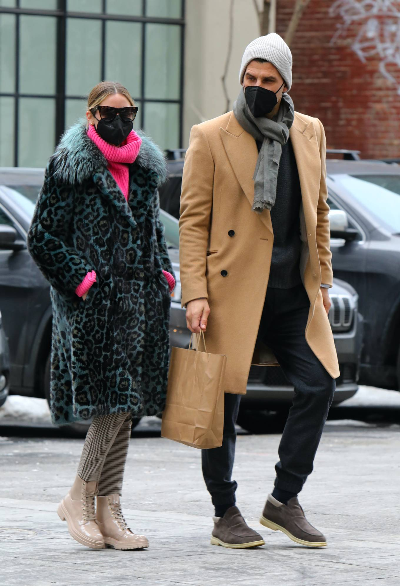Olivia Palermo - Seen on Valentines Day in Dumbo - Brooklyn