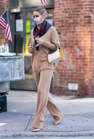 Olivia Palermo - Spotted on a Stroll in New York City