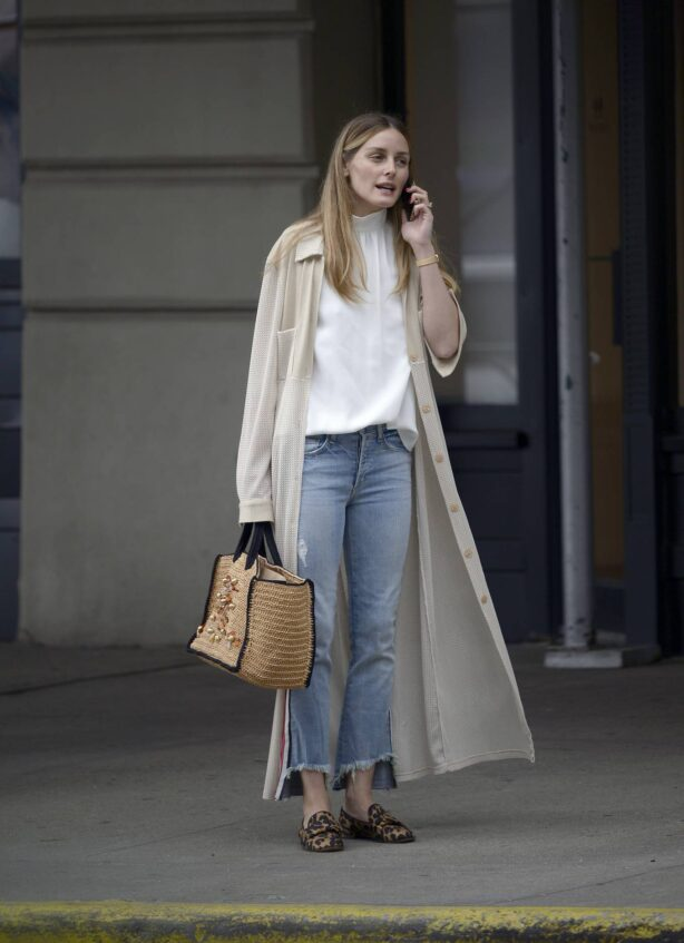 Olivia Palermo - Stepping out in New York