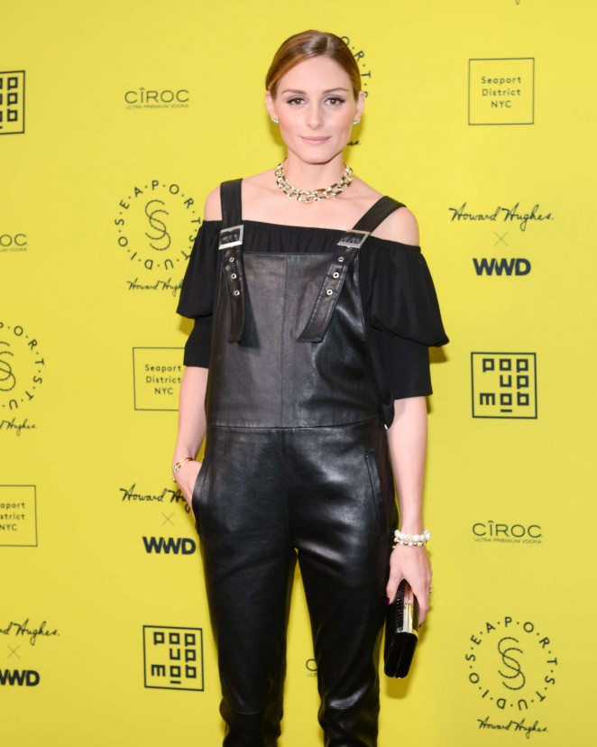 Olivia Palermo - The Opening of SEAPORT STUDIOS in NYC