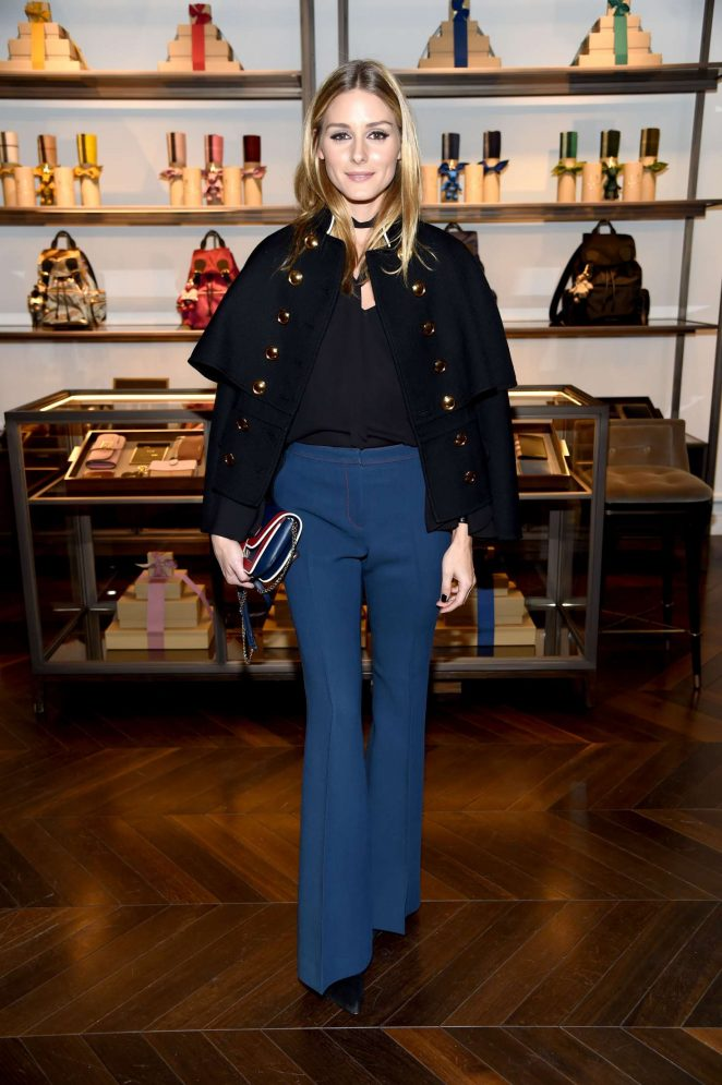 Olivia Palermo - The Tale of Thomas Burberry Celebration in New York