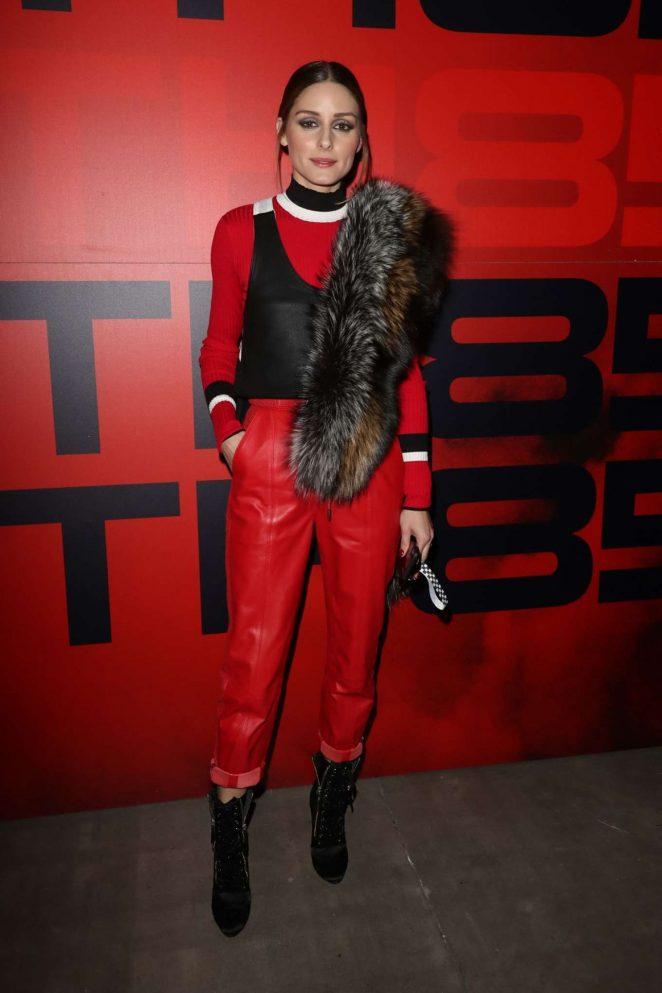 Olivia Palermo - Tommy Hilfiger Fashion Show 2018 in Milan