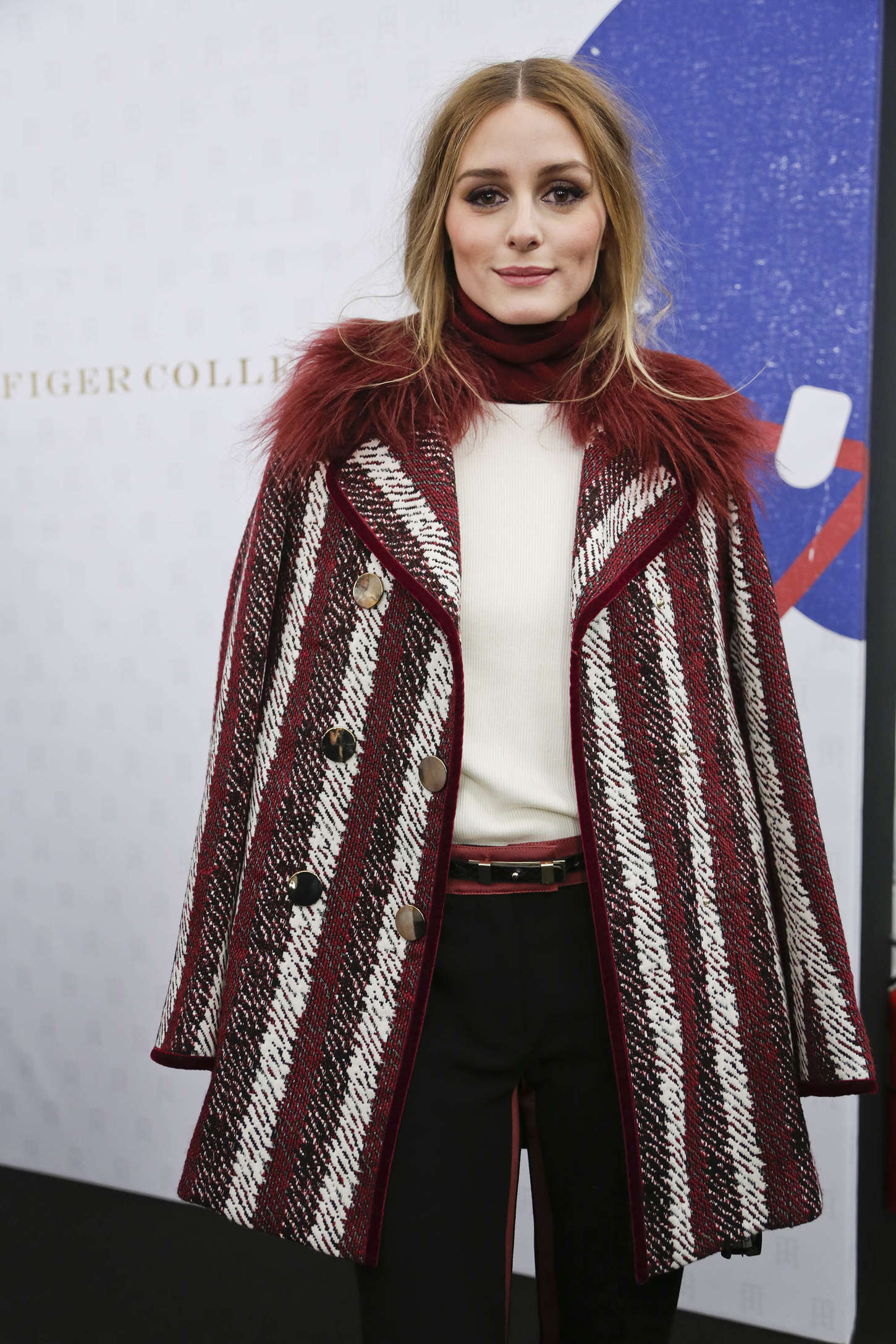 Olivia Palermo - Tommy Hilfiger Women's Collection 2015 in NYC