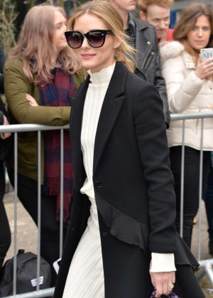 Olivia Palermo - Topshop Unique Show at 2017 LFW in London