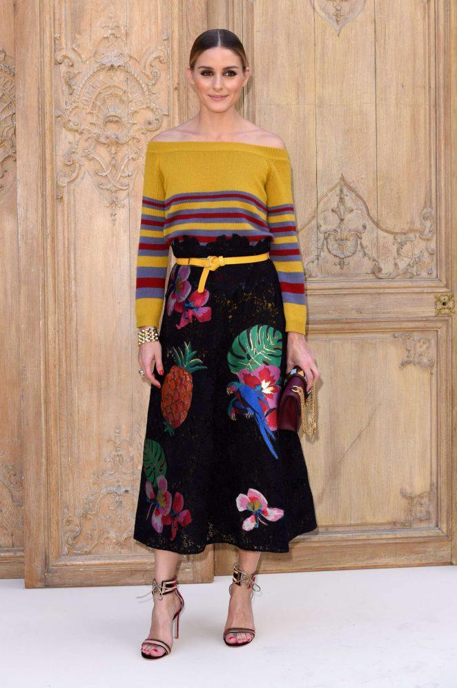 Olivia Palermo - Valentino Fashion Show SS17 in Paris