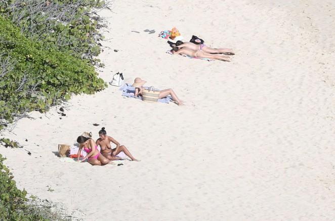 Olivia Palermo 2016 : Olivia Palermo: Wearing Bikini at the beach in St Barts-09