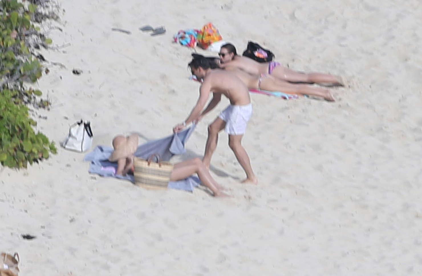 Olivia Palermo 2016 : Olivia Palermo: Wearing Bikini at the beach in St Barts-11