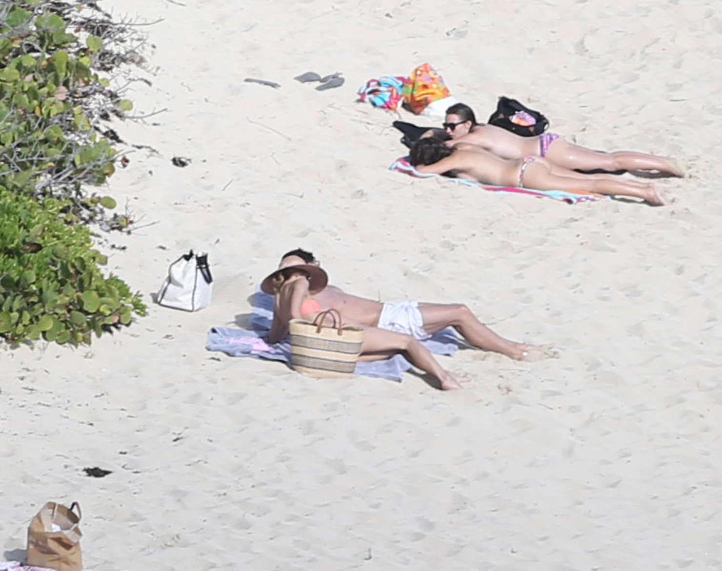 Olivia Palermo 2016 : Olivia Palermo: Wearing Bikini at the beach in St Barts-15