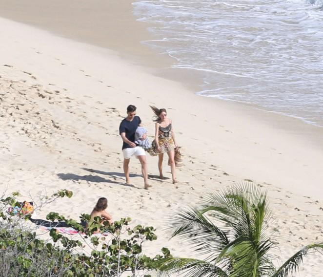 Olivia Palermo 2016 : Olivia Palermo: Wearing Bikini at the beach in St Barts-19