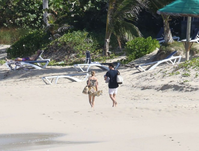Olivia Palermo 2016 : Olivia Palermo: Wearing Bikini at the beach in St Barts-22