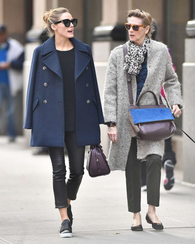 Olivia Palermo with her mother Lynn Hutchings -02