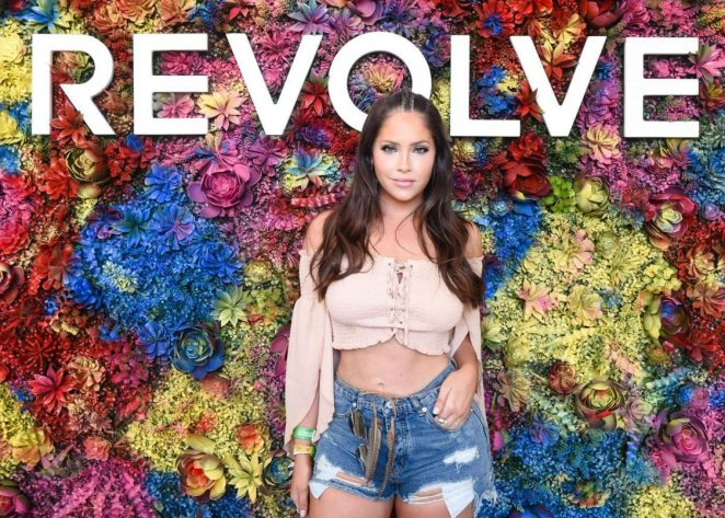 Olivia Pierson - Revolve Desert House at 2017 Coachella in Indio