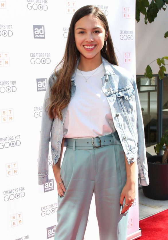 Olivia Rodrigo - Ad Council's Creators For Good Host She Can STEM Summit in Hollywood