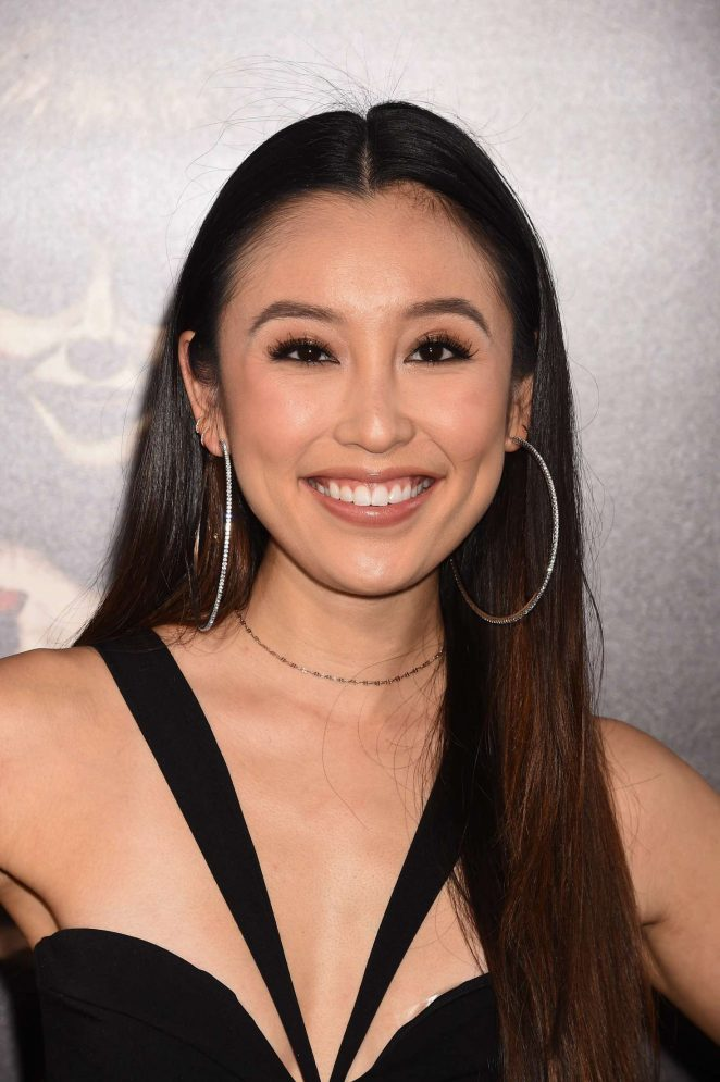 OLIVIA SUI at Annabelle: Creation Premiere in Los Angeles