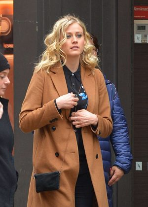 Olivia Taylor Dudley Out in New York