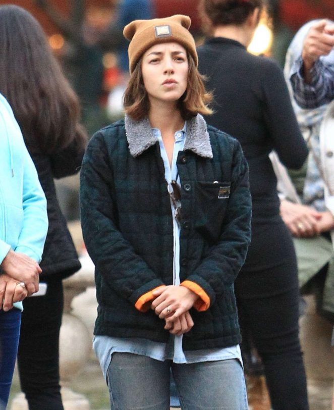 Olivia Thirlby at the Grove in Los Angeles