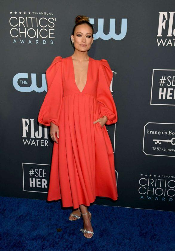 Olivia Wilde - 2020 Critics Choice Awards in Santa Monica