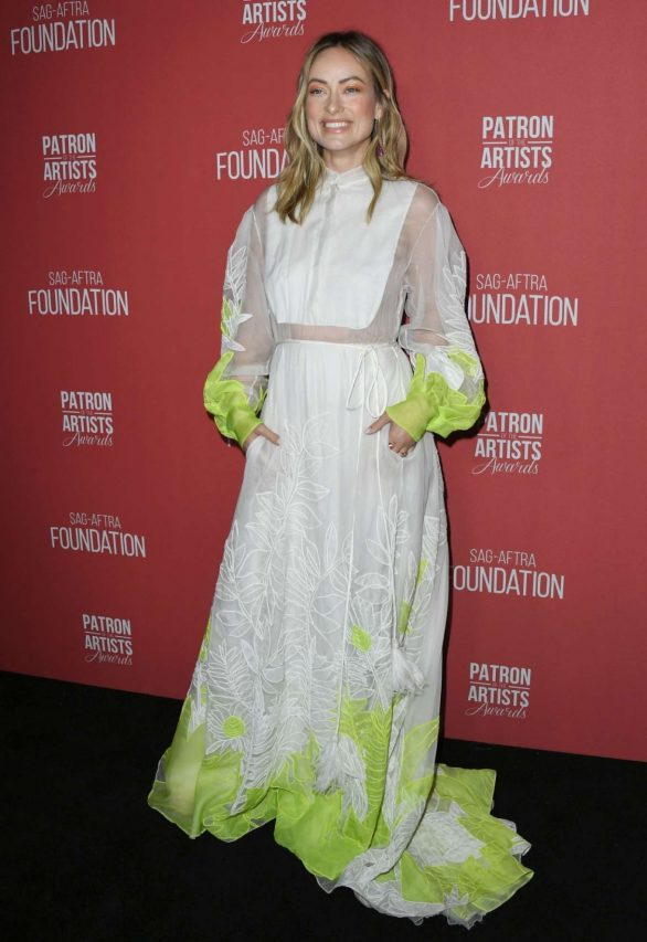Olivia Wilde 2019 : Olivia Wilde – 4th Annual Patron of the Artists Awards-03