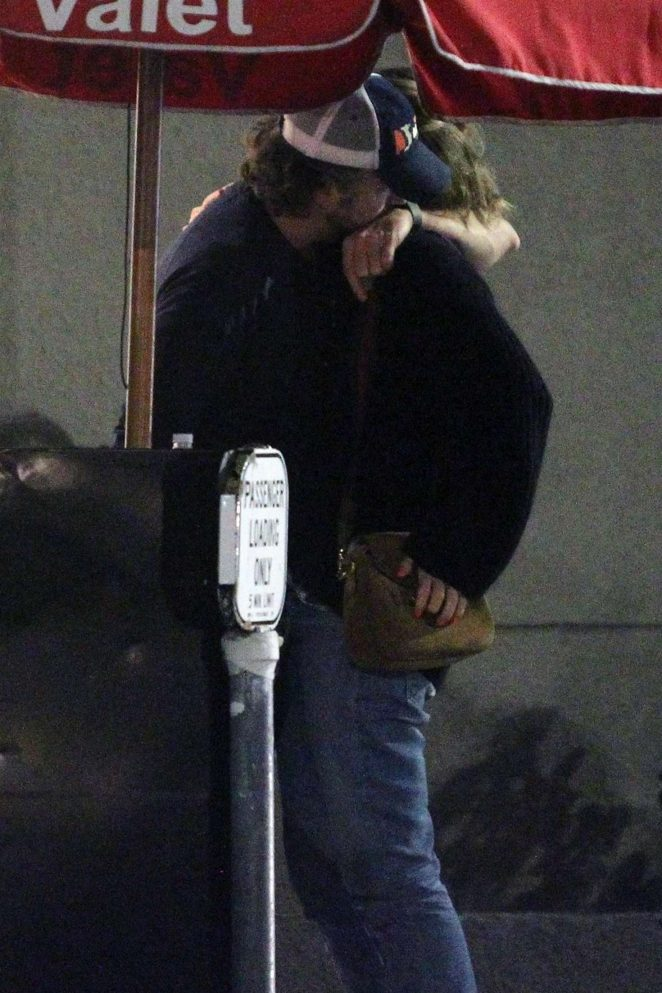 Olivia Wilde and Jason Sudeikis leves Son of a Gun in West Hollywood