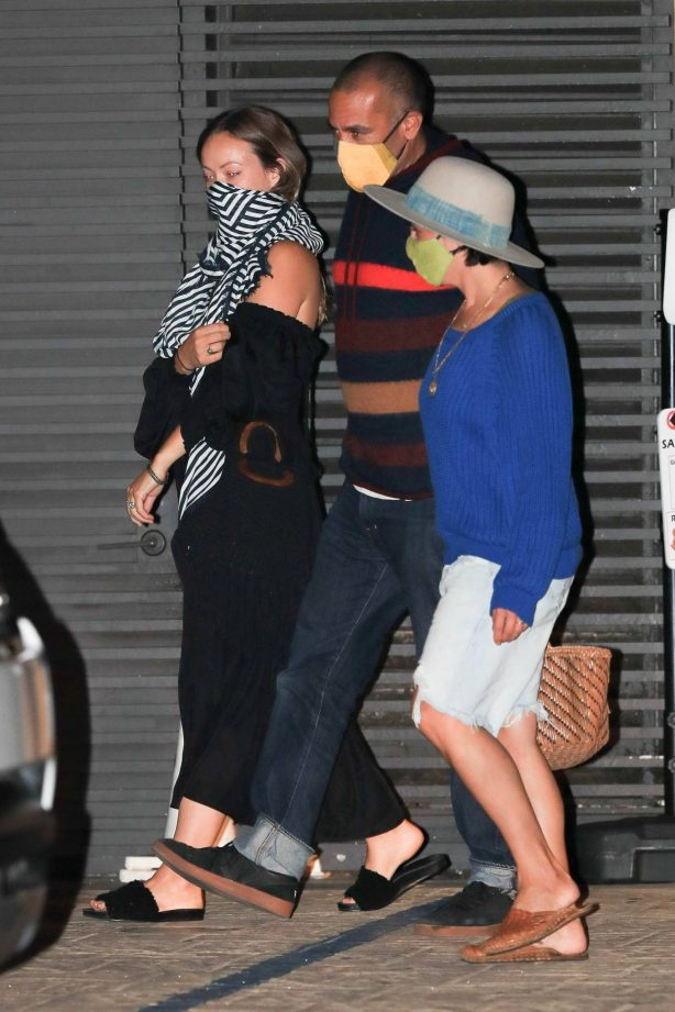 Olivia Wilde and Jason Sudeikis - Out for a dinner date at Nobu in Malibu