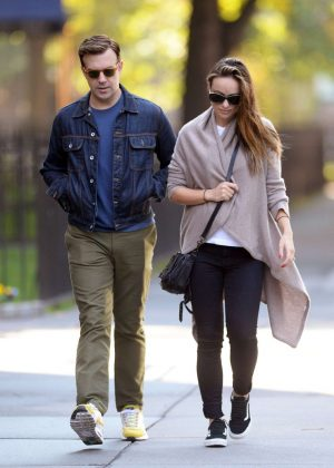 Olivia Wilde and Jason Sudeikis out in Brooklyn
