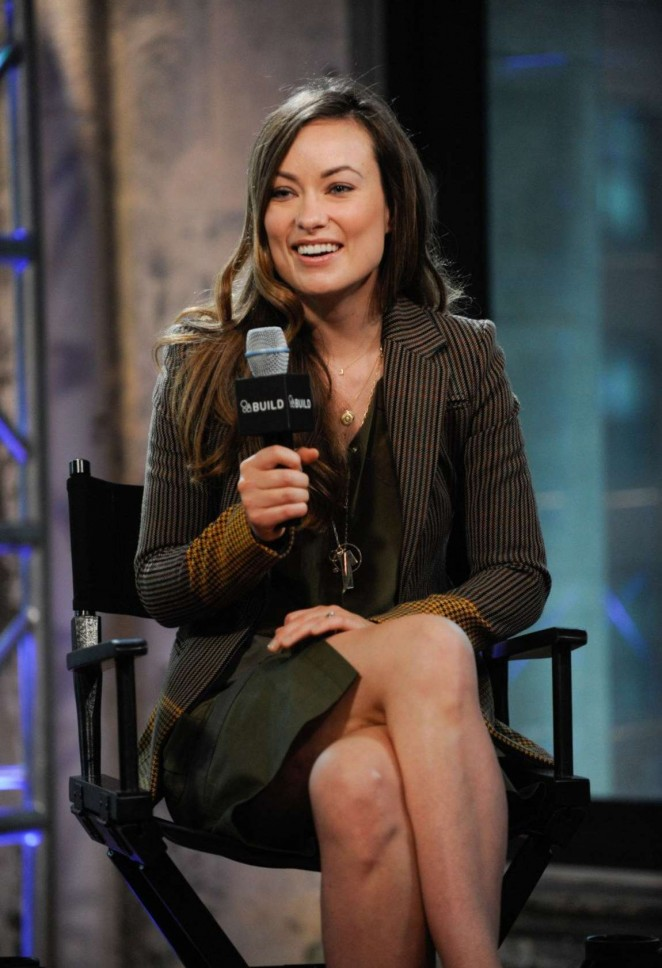 Olivia Wilde - AOL Build Speaker Series in New York