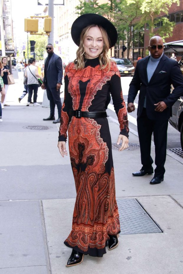 Olivia Wilde - Arrives at SiriusXM Studios in New York