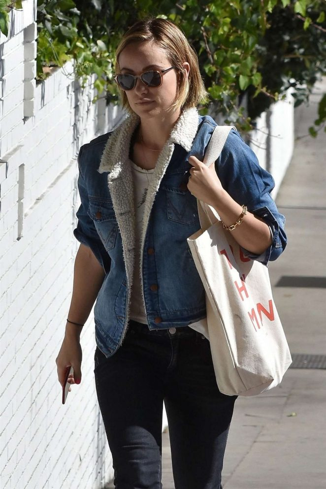 Olivia Wilde at Chateau Marmont in West Hollywood