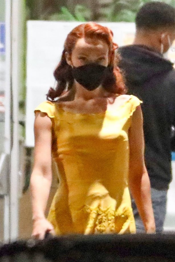 Olivia Wilde - 'Don't Worry Darling' set in Los Angeles