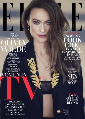 Olivia Wilde - Elle Magazine Cover (February 2016)