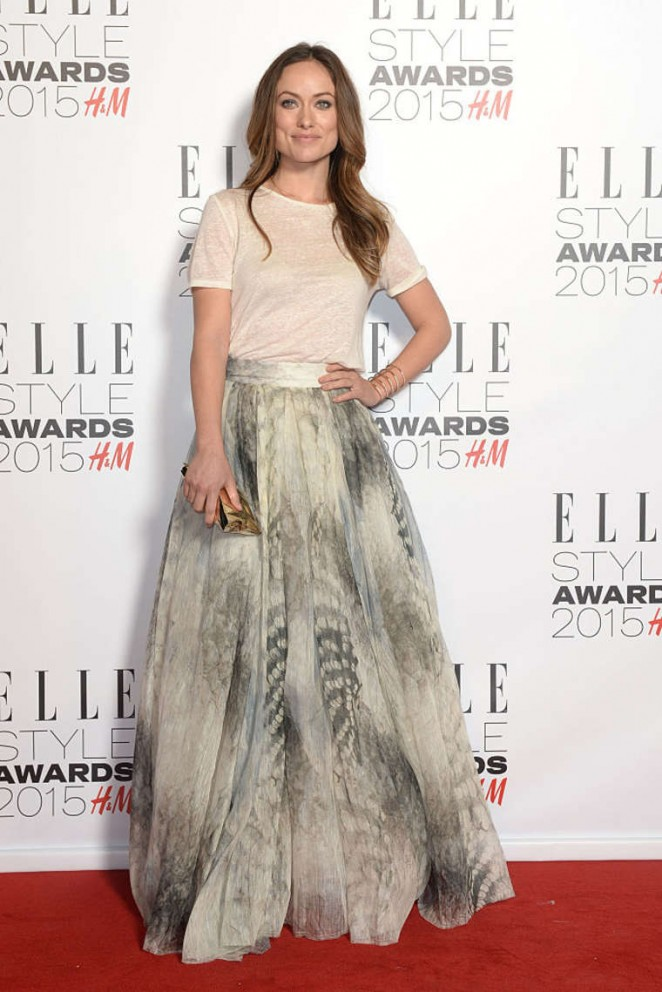 Olivia Wilde - Elle Style Awards 2015 in London