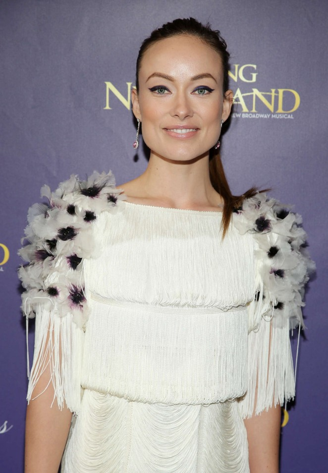 Olivia Wilde - 'Finding Neverland' Opening Night in NYC