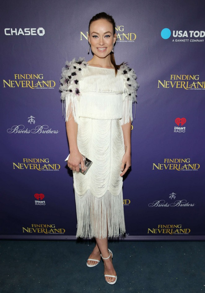 Olivia Wilde: Finding Neverland Opening Night -09