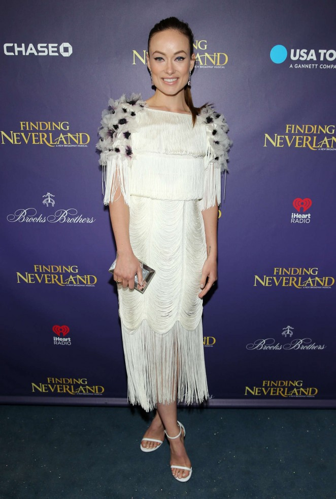Olivia Wilde: Finding Neverland Opening Night -13