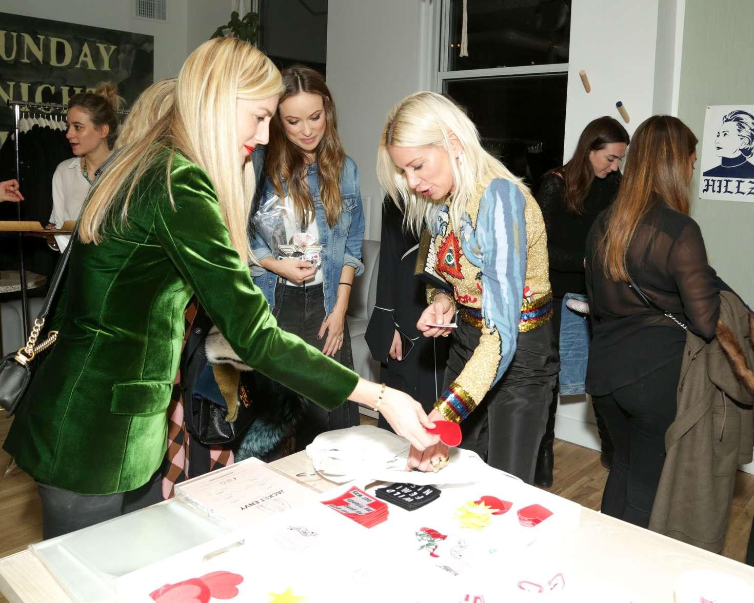 Olivia Wilde 2016 : Olivia Wilde: Harpers Bazaar Daring Issue Celebration -06