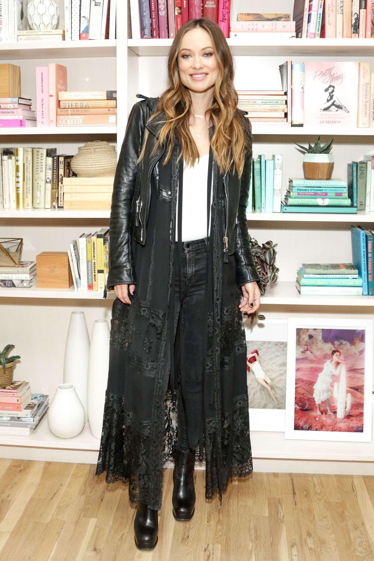 Olivia Wilde 2016 : Olivia Wilde: Harpers Bazaar Daring Issue Celebration -17