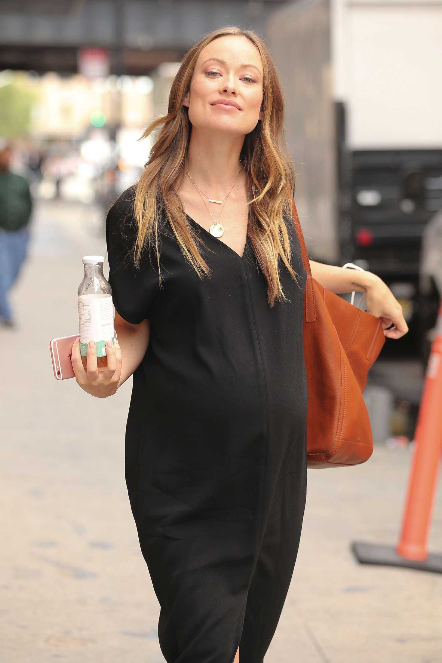 Olivia Wilde In Black Dress Out In New York City Gotceleb