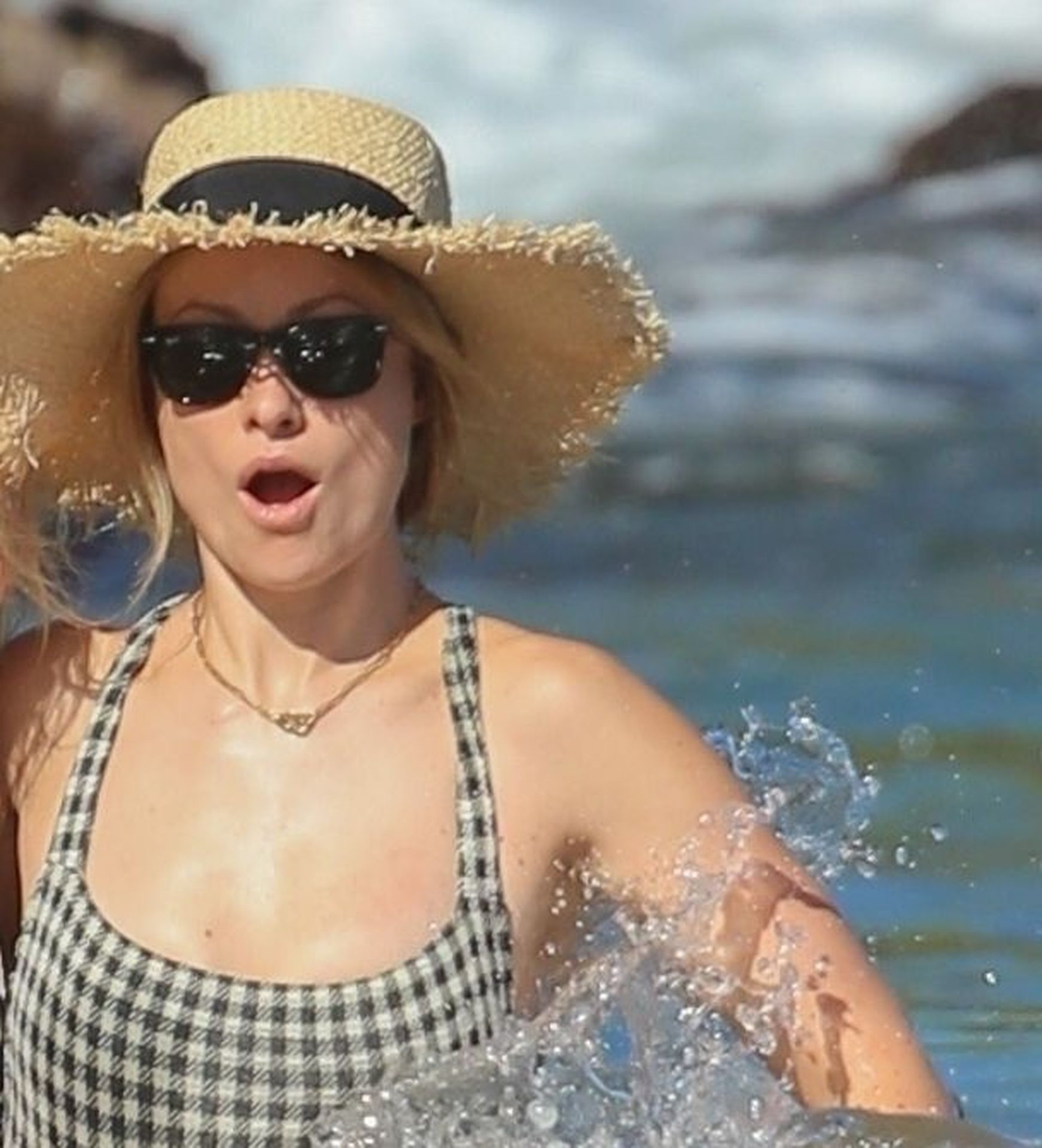 Olivia Wilde 2019 : Olivia Wilde: In one-piece swimsuit at the beach in Hawaii-29