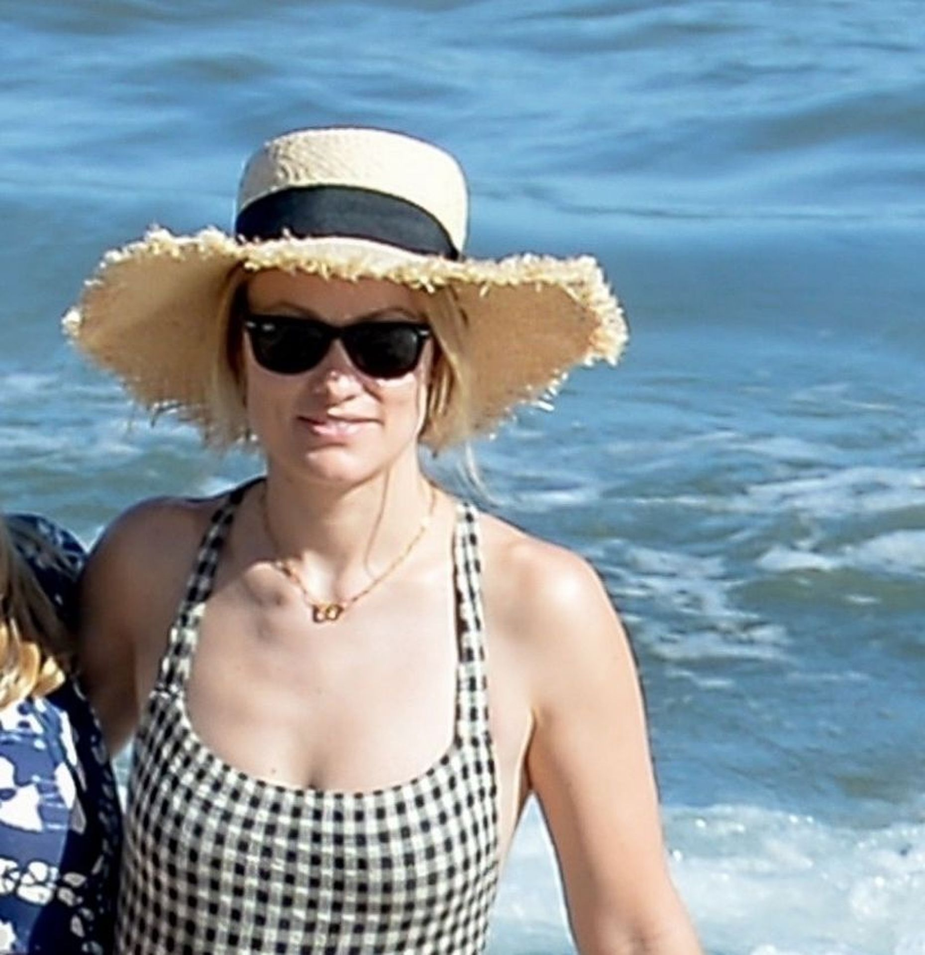 Olivia Wilde 2019 : Olivia Wilde: In one-piece swimsuit at the beach in Hawaii-33