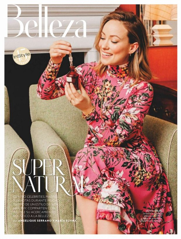 Olivia Wilde - InStyle Spain Cover (June 2019)