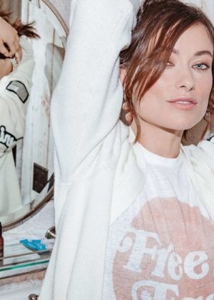 Olivia Wilde - Into the Gloss (October 2017)