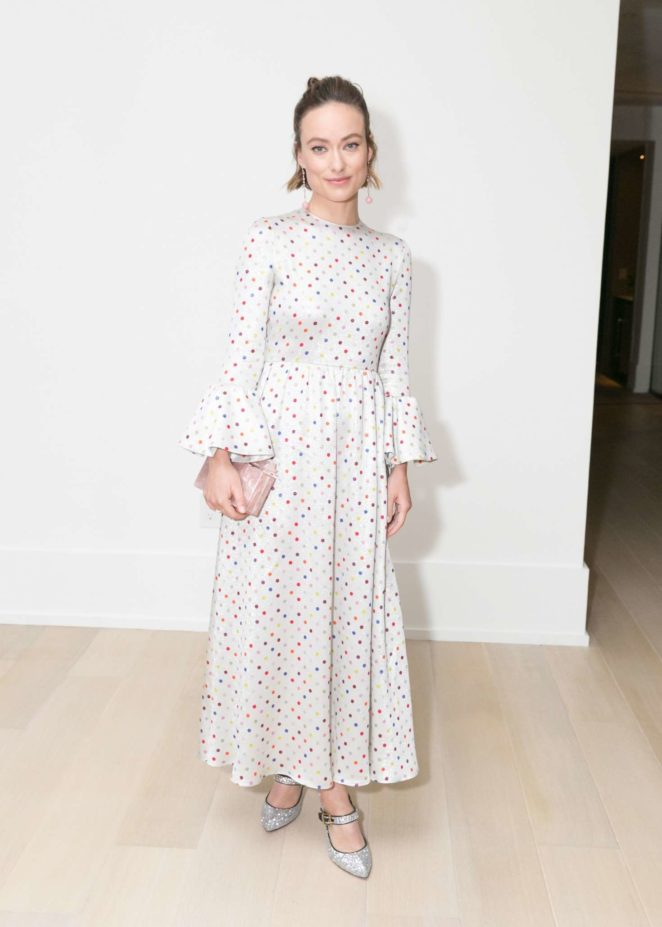 Olivia Wilde – La Ligne x Cuyana collaboration celebration in New York