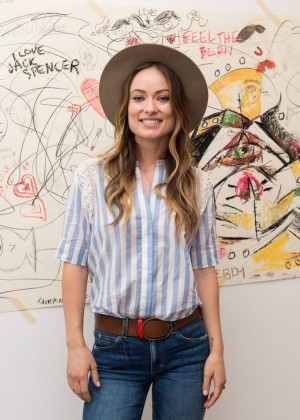 Olivia Wilde - Launch of a new music video for Edward Sharpe and the Magnetic Zeros in LA