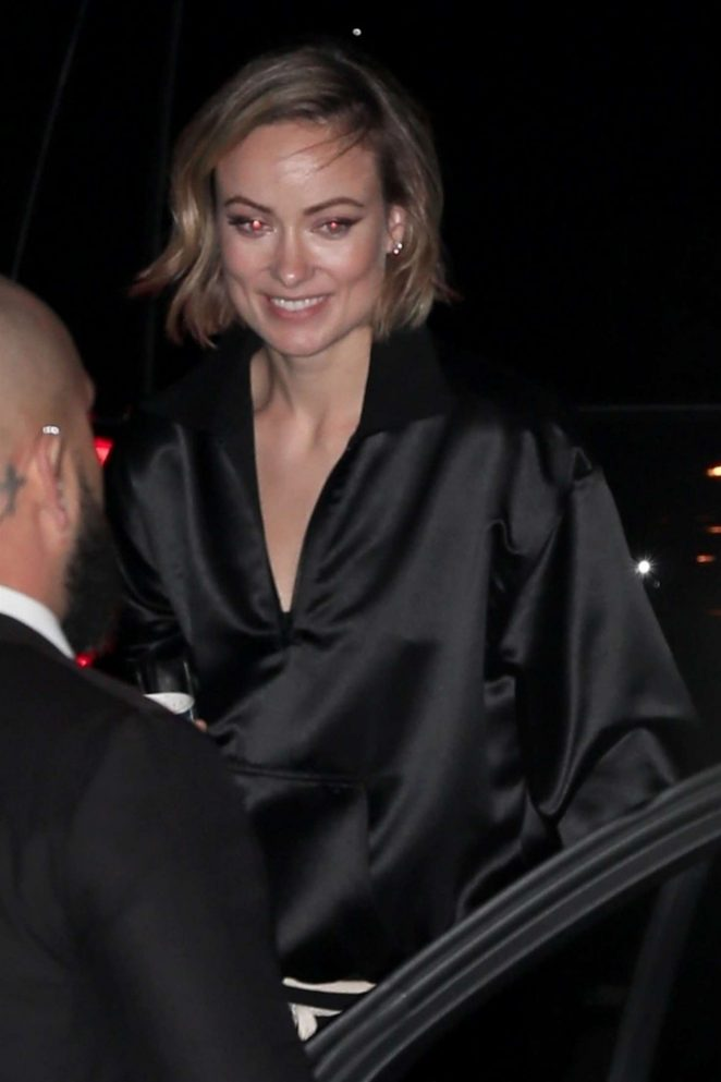 Olivia Wilde - Leaves Chateau Marmont in West Hollywood