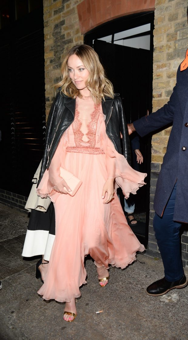 Olivia Wilde: Leaving the Chiltern Fire House -25