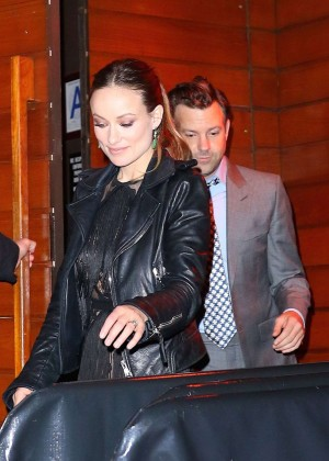 Olivia Wilde - Leaving 'The Devil and The Deep Blue Sea' Premiere Party in NYC