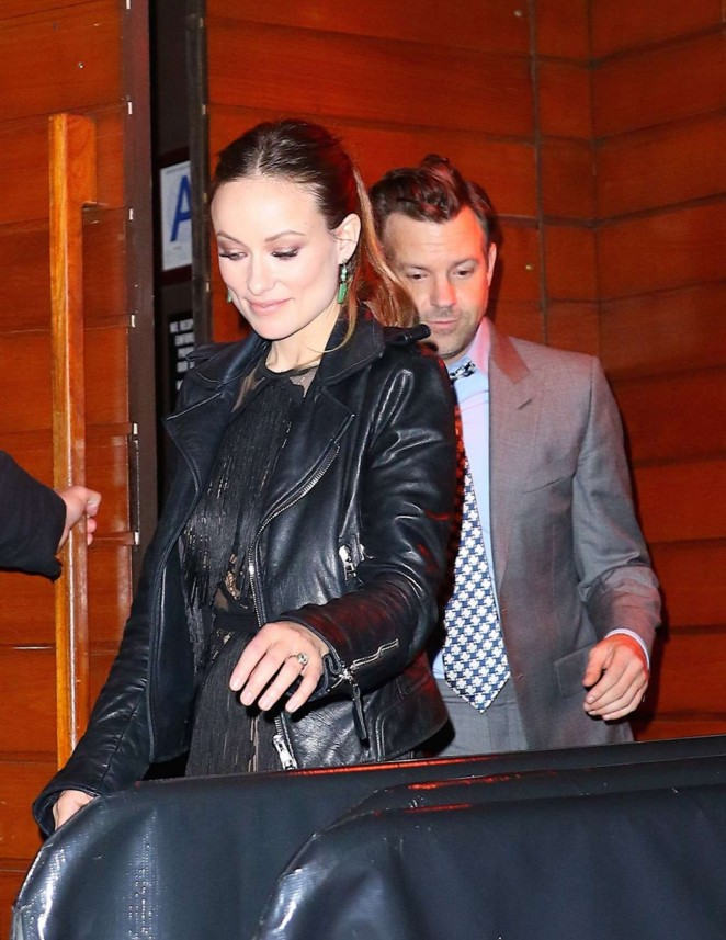 Olivia Wilde – Leaving 'The Devil and The Deep Blue Sea' Premiere Party in NYC