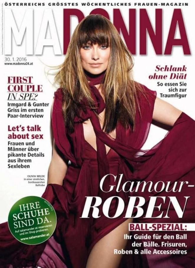 Olivia Wilde - Madonna Magazine Cover (January 2016)