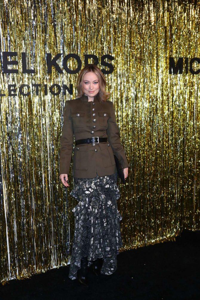 Olivia Wilde – Michael Kors Fashion Show in New York